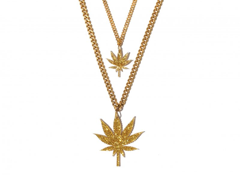 Gold Chronic Single Leaf