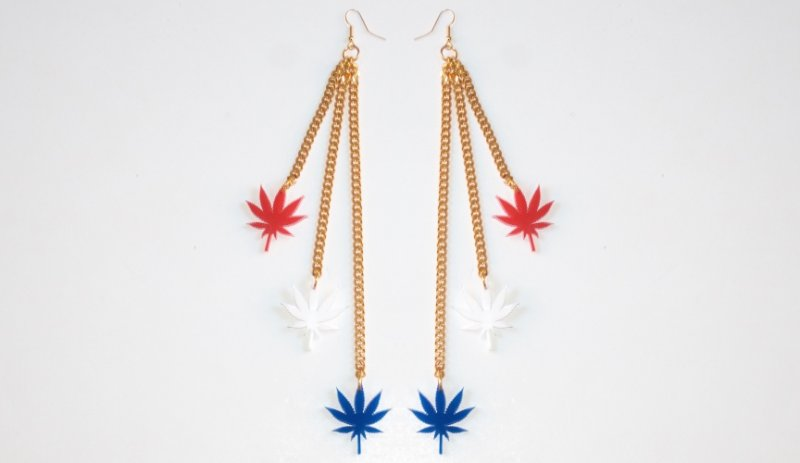Limited Edition STARS AND STRIPES earrings