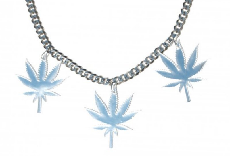 Triple Mirror Medium Chronic Leaf Chain