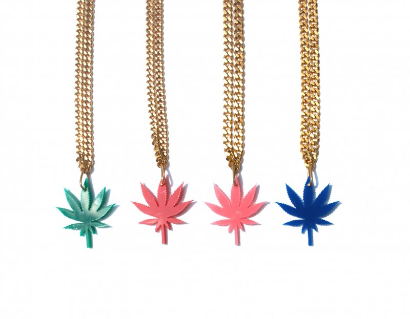 Chronic Collection - Mini Single Leaf Chronic Chain